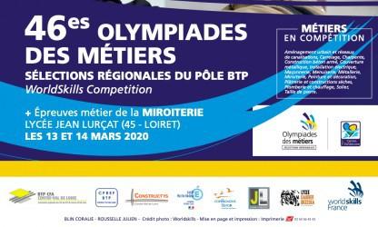 Le BTP CFA Loir Et Cher accueillera la compétition régionale des Olympiades des métiers