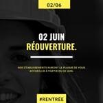 📆 Annonce officielle 📆 02 JUIN 👉  Réouverture de tous nos campus en région Centre-Val de Loire 📌 @regioncentre_valdeloire  #CFA #APPRENTI